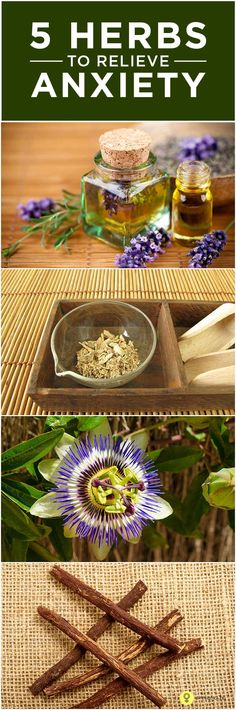Top 5 Effective Herbs To Relieve #Anxiety