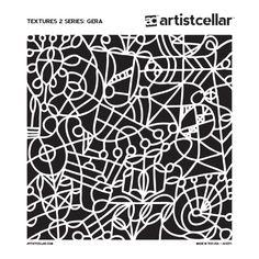 Jill K. Berry - Textures 2 Series (Gera Stencil $4.99)