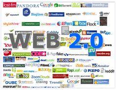 Web social o Web 2.0. -Más avanzada que web anteriores en las cuales tu eres consumidor y a la misma vez actualizador de ella.