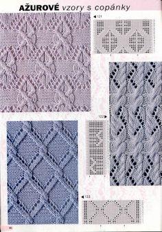 Burda 2003 1 E682 Nejkrásnější vzory - Isabela - Knitting 2 - Picasa-Webalben