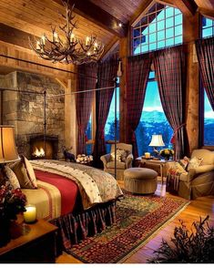 log cabin cozy ... cabin decorating inspiration | cottage living ...