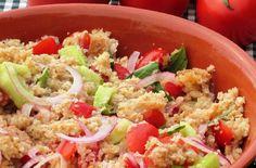 Panzanella toscana, Tuscan bread salad