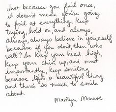 A wise woman - Marylin Monroe