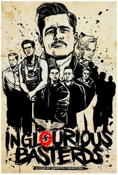 Awesome New Art for Tarantino's INGLOURIOUS BASTERDS for a Haiti Benefit Art Show - News - GeekTyrant @ http://geektyrant.com/news/2010/2/16/awesome-new-art-for-tarantinos-inglourious-basterds-for-a-ha.html