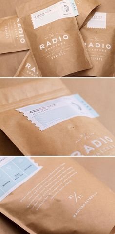 coffee design Ranging from simple minimalist designs to intricately detailed and colorful packages, here are 15 examples of creative coffee packaging that looks so good, the coffee probably tastes better. Craft Packaging, Food Packaging Design, Coffee Packaging, Packaging Design Inspiration, Packaging Ideas, Product Packaging, Product Branding, Organic Packaging, Simple Packaging