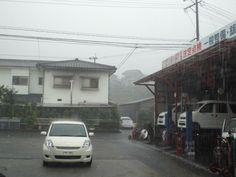 8月8日曇りのち豪雨 夕方より物凄い豪雨、雷も近くで落ちとても怖かったです。