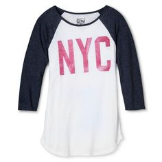 New York Local Pride by Todd Snyder Women's Nyc Raglan Tee - White
