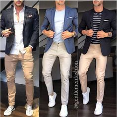 You'll be able to stop wondering what things to dress to work to look as fashionable when you do away from the place of work. Suit Up, Suit And Tie, Blazer Suit, Suit Jacket, Style Masculin, Your Style, Style Men, Everyday Fashion, Dapper