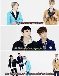 Bap funny Himchan Jongup Kpop
