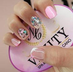 Hello Nails, Summer Acrylic Nails, Simple Nails, Beauty Nails, Pedicure, Nail Art Designs, Pretty, Dali, Colorful Nails