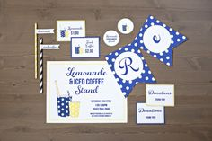 Lemonade Stand for Adults and Kids (Free Printables) @Amber Johnson Overflowing