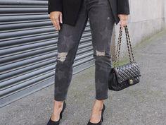 Star jeans  Mum jeans  Blazer & T-shirt