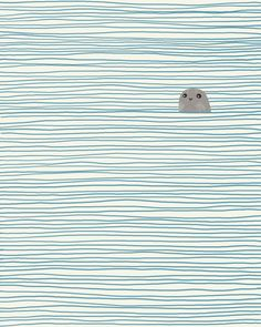 Yesterday I fell in love with a cute little seal I spotted online. Then I discovered illustrator Jorey Hurley makes many more imagery to fall in love with. Have a peek on the site for more! http://www.artisticmoods.com/jorey-hurley/