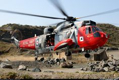 Westland WS-61 Sea King HU5 aircraft picture