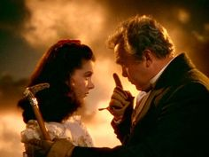 Scarlett & Pa in Gone With the Wind - Gone with the Wind Image (4368040) - Fanpop