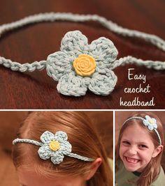 Crochet Headband {Craft Camp} - Skip To My Lou Skip To My Lou