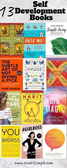 13 Self Development Books Everyone Should Read Once – ScaleitSimple - - Self-development is something that everyone can benefit from not just those going through a hard time. Making these self-development books helpful for all. Good Books, Books To Read, My Books, Teen Books, Pranayama, Plymouth, Mantra, Hygge Book, Reading Help