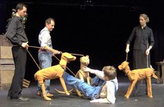 idea for puppet hunting dogs for Theoclymenus! Marionette Puppet, Puppets, Toy Theatre, Puppet Making, Project, Edward Tulane, Pop, Stage Props, 2017 Ideas