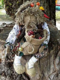 """Домовой """"Счастливец""""!) - тряпичная кукла,кукла-оберег,домовой,кукла в подарок"""
