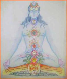 Ilustración chakras