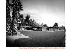 Mari & Stewart Williams House, 1955. Photo: Julius Shulman