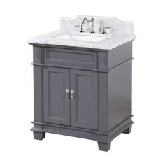 Choose to purchase Elizabeth 30 Single Bathroom Vanity Set 30 Inch Bathroom Vanity, 30 Inch Vanity, Add A Bathroom, Bathroom Sink Faucets, Basement Bathroom, Bathroom Ideas, Bathroom Inspiration, Kitchen Fixtures, Bathroom Fixtures