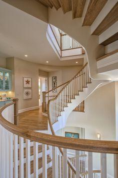 circular stairway | Calusa Construction