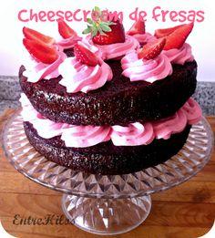 Cheesecream de fresas