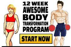12 week awesome body transformation start