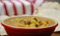 New Mexico style Green Chile Stew... yum!