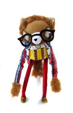 nerdy red panda ! | by cat rabbit