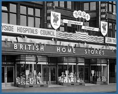 BRITISH HOME STORES LIVERPOOL - - LORD STREET