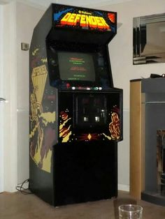Defender arcade game
