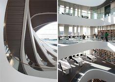 schmidt hammer lassen architects: university of aberdeen new library