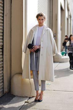 great topper. #LaurenRemingtonPlatt in NYC.