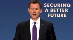 ..Multi-millionaire Jeremy Hunt: people on tax credits 'lack self respect and dignity' Another evil Tory scumbag