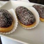 Recipe for Gluten Free, Sugar Free Chocolate Dipped Mini-Eclairs