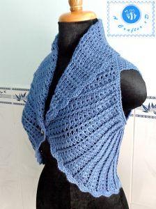Shawl Cir-Collar Vest