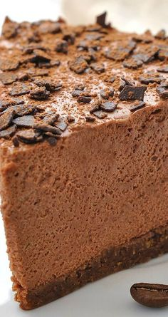 Chocolate Cappuccino Cheesecake Recipe