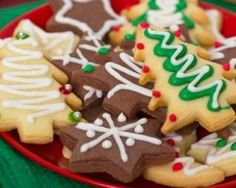 Sablés de Noël à l'orange et cacao