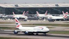 British Airways : Boeing 747-400 à Londres Heathrow