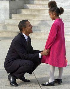 The Evolution of Malia Obama | http://www.baracklovesmichelle.com/the-evolution-of-malia-obama