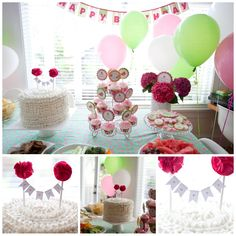 1st birthday party...love this cake idea