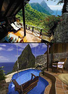Hotels To Visit Before You Die : Landera Resort in St. Lucia