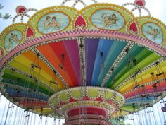 Two of my favorites...rainbows & carousels...beautiful!!!