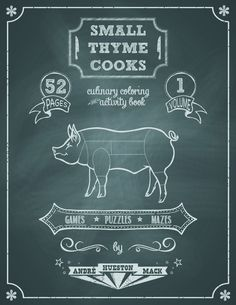 Small Thyme Cooks Coloring Book The Perfect Coloringbook For Foodies