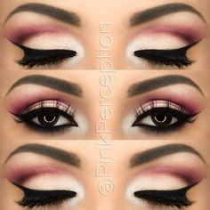 Makeup look with coastal scents revealed 2 pallette.