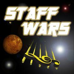 Staff Wars (Note reading Smart Board game)