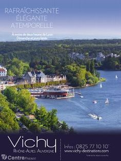 L'affiche que vont découvrir les Lyonnais - Agence VICHY