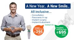 A New Year and A New Smile, replace your missing teeth with long term solution = Dental Implants, - www.dentart.com